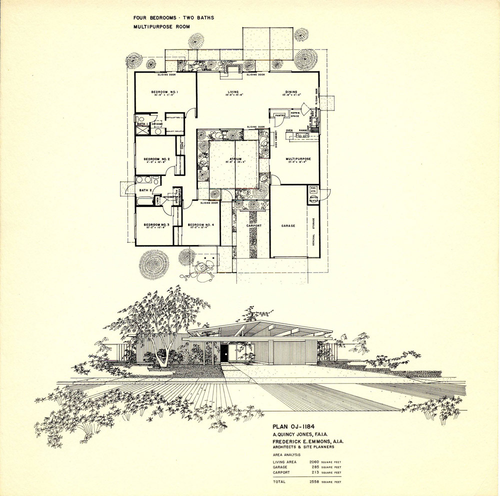Eichler Floor Plans-Fairhills - EichlerSoCalEichlerSoCal