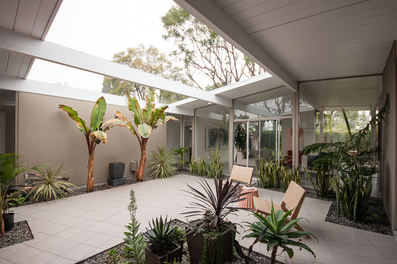 Eichler archives eichlersocaleichlersocal What is an atrium in a house