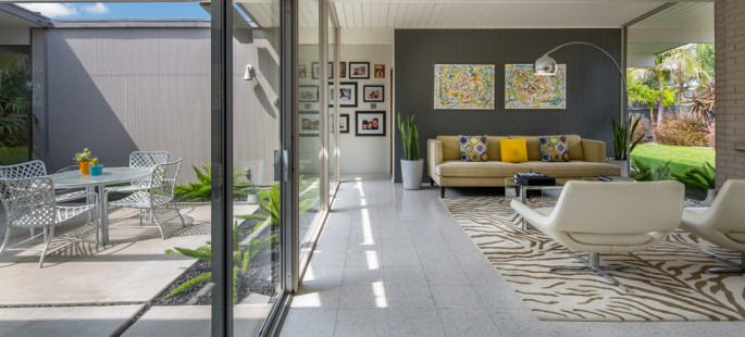 Eichler Living Room