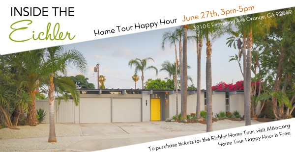 You're Invited: Eichler Home Tour plus FREE Happy Hour